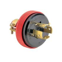 Plugue 3P+T 30A 440 Volts com Saída Axial - 56407 - PIAL