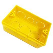 """Caixa de Luz Tigreflex 4""""x2"""" Amarela - 33.04.353.8 - TIGRE"""