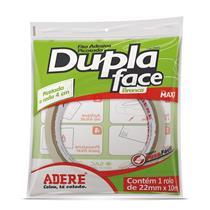 Fita Dupla Face Picotada Com Recuo  22mm x10 Metros - 4594S- ADERE