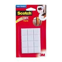 Feltro Scotch Branco Quadrado P - HB004262604 - 3M
