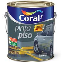 Tinta Para Piso Fosco Vermelho Segurança 3,6 Litros - CORAL