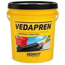 Impermeabilizante Vedapren 18Kg Preto - 111805 - OTTO BAUMGART