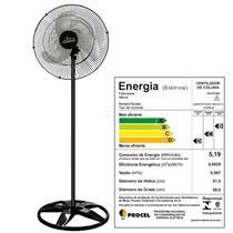 Ventilador de Coluna Oscilante 60cm Premium Preto Bivolt - 726412 - VENTI DELTA