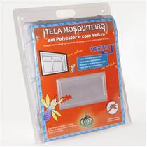 Tela Mosquiteiro Cinza com Velcro 1,25 x 1,55 Metros - 401/PROT.B - VICTORIA REGGIA