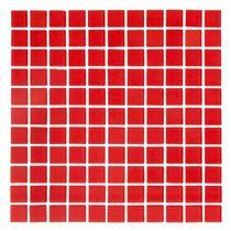Pastilha de Vidro 30X30 Cristal Vermelha - CM - 01 - COLORTIL