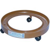 Suporte plastico p / botijao gas bege qual - 10235 - QUALITY