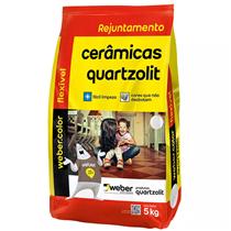Rejunte Flexível Webercolor 5Kg Cinza Artico – 0107000180030FD - QUARTZOLIT
