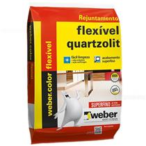 Rejunte Weber Color Flexivel Preto Grafite 1Kg - 0107000420015FD - QUARTZOLIT