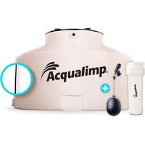 Caixa D'Água Acqualimp 1000 litros Água Limpa + 3 Flanges + Boia + Filtro - 465828 - ACQUALIMP