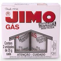 Dedetizador gas p/inseto 2pcs  35gr jimo  - 7896027080001 - JIMO