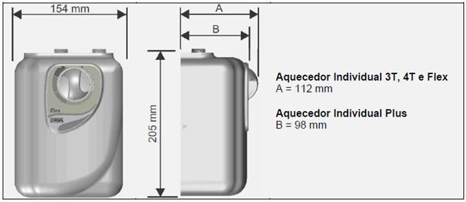 aquecedor de água elétrico cardal