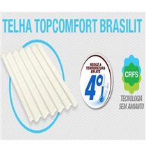 Telha Topcomfort 1,83 x 1,10 Metro 6mm - 225161835 - BRASILIT