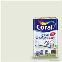 Tinta Acrílica Rende Muito Fosco Branco Gelo 18 Litros - CORAL