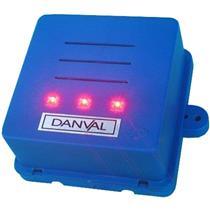 Cigarra de Pôtencia Bivolt Azul Com Led - CG08.1 - DANVAL