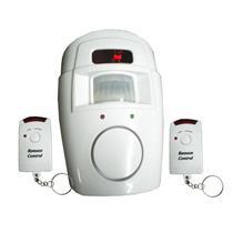 Alarme Sem Fio e Sensor de Presença Com dois Controle Remoto - DNI6060 - KEY WEST