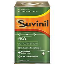 Tinta Para Piso Acrílica Premium Cinza 18 Litros - SUVINIL
