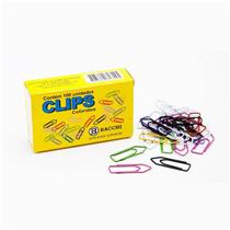 Clips Colorido Nº 2 / 0 com 100 Unidades - 4412 - 9 - BACCHI