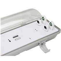 Luminária de Sobrepor IP65 2x28/32/36/40W - 01529 - OUROLUX