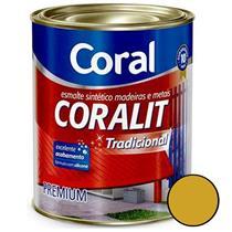 Esmalte Sintético Coralit Tradicional Auto Brilho Ouro 3.6 Litros - CORAL