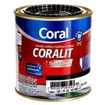 Esmalte Sintético Coralit Tradicional Auto Brilho Azul França 225ml - CORAL