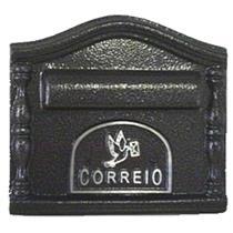 Caixa de Correio Decorada Prata e Preto - ECO 502 - PINTSILK