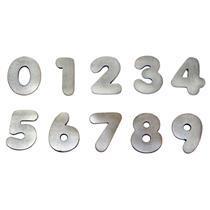 Algarismo Alumínio Polido Pequeno Número 1 - 1799 - STANFER