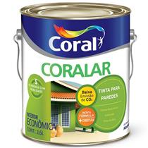Tinta Acrílica Coralar Verde Kiwi 3,6 Litros - CORAL