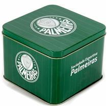 Caneca Porcelana Palmeiras + Lata Palmeiras - 220330 - GASPAR