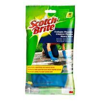Luvas Scotch Brite Limpeza Pesada Média - HB004071492 - 3M