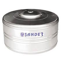 Caixa D ´ Água Em Aço Inox Com Tampa 500 Litros Compacta Funda - SANDER