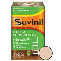 Tinta Acrílica Fosca Cobre Mais 18 Litros Pêssego - 50516572 - SUVINIL