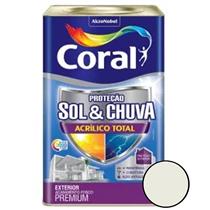 Sol & Chuva Acrilico Total Branco 18 Litros - 5281033 - CORAL