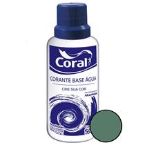 Corante Base Água Verde 50ML - CORAL