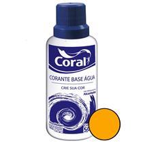 Corante Base Água Amarelo 50ML - CORAL