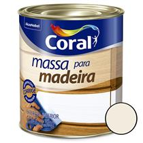 Massa para Madeira 1.5Kg - CORAL