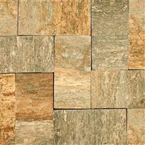 Pedra Miracema Amarela Amarrado com 1/2m² 19 Peças - 11,5X23
