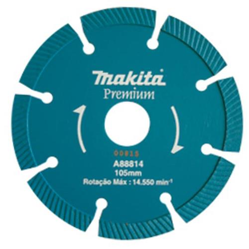 Disco Diamantado Segmentado Para Concreto 105mm - A88814 - MAKITA
