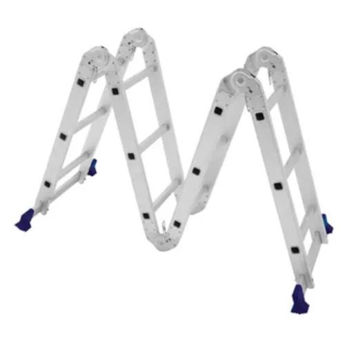 Escada Multifuncional 4x3  12 Degraus com Plataforma - 5133 - MOR