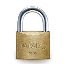 Cadeado Latão com 2 chaves CR-50 mm - 0100500SM - PAPAIZ