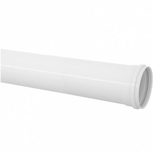 """Tubo PVC Para Esgoto Série Normal 6 Metros 4"""" DN-100 Branco - 11.03.103.0 - TIGRE"""