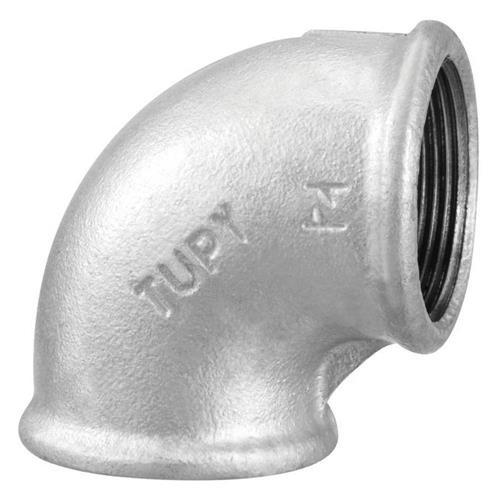"""Cotovelo Galvanizado 90 BSP 2.1/2"""" - 1207011 - TUPY"""