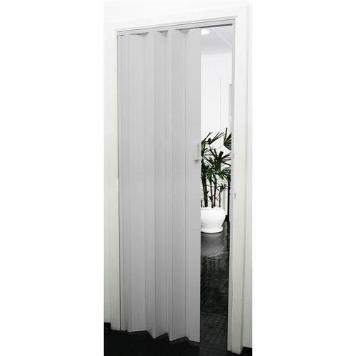 Porta Sanfonada PVC Prática 2.10x60 Cinza - 540602 - PRECON