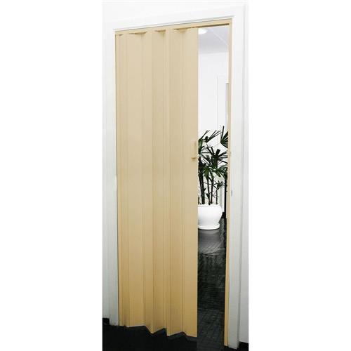 Porta Sanfonada PVC Prática 2.10x60 Bege - 540615 - PRECON