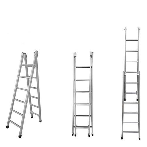 Escada 2 em 1 Extensiva 6/10 Degraus - 620402 - METALMIX