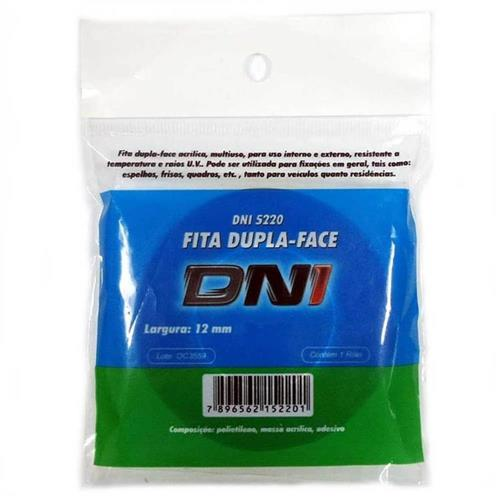 Fita Dupla Face Incolor 10 Metros - 5222 - KEY WEST