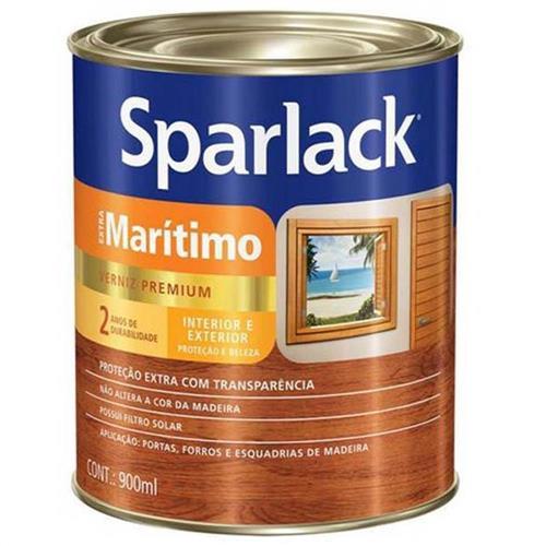 Verniz Sparlack Extra Marítimo Brilhante Para Madeira Natural 900ml - SPARLACK