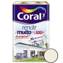 Tinta Acrílica Rende Muito Fosco Branco 18 Litros - CORAL