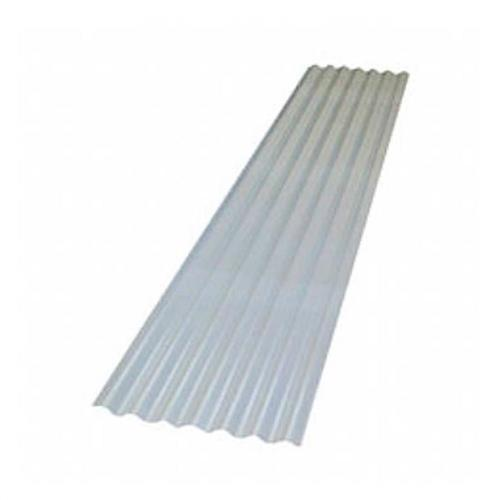 Telha Plastica Onda Baixa 2.44 Metros x 50cm - 2000550005500244 -  ATCO