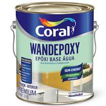Epóxi Base Água Wandepoxy Acetinado 3.6 Litros Branco - CORAL