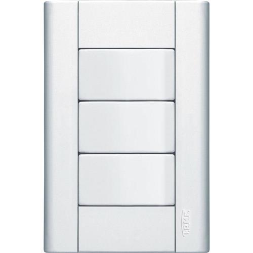 Interruptor Simples + 2 Interruptores Paralelos 16A 250V Modulare - 0469 - FAME